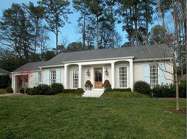 120 best images about ranch home porches on pinterest for Exterior updates for ranch style homes