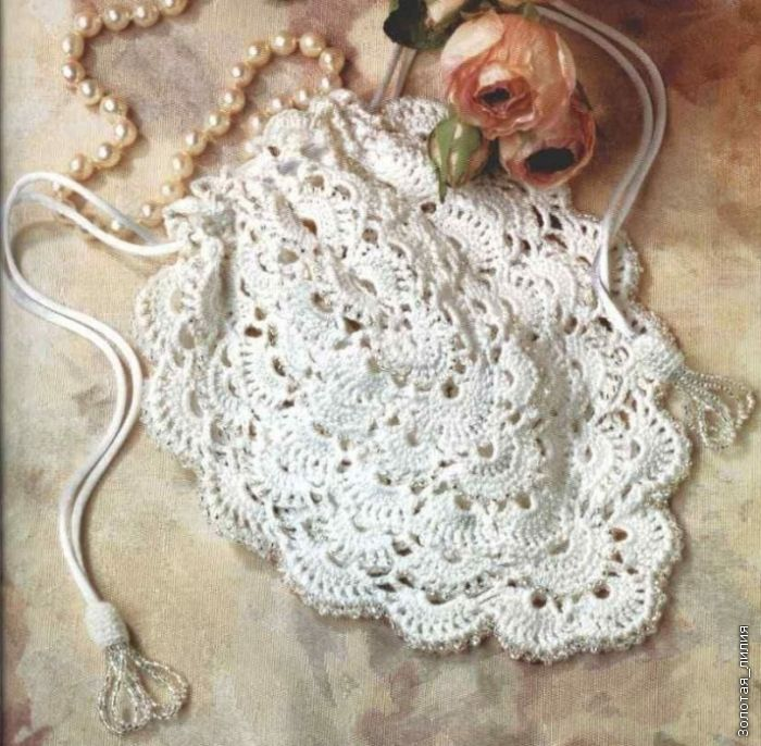 beautiful crochet purse - free pattern