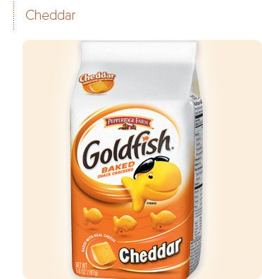 Things got real when you busted out the plastic baggy of goldfish.   - Delish.com