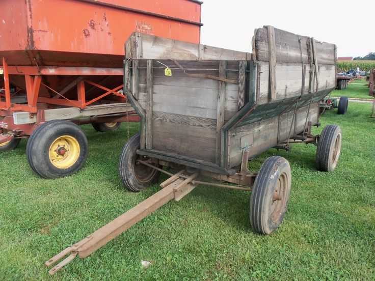 Antique Tractor Trailers : Best images about vintage tractors and equipment on