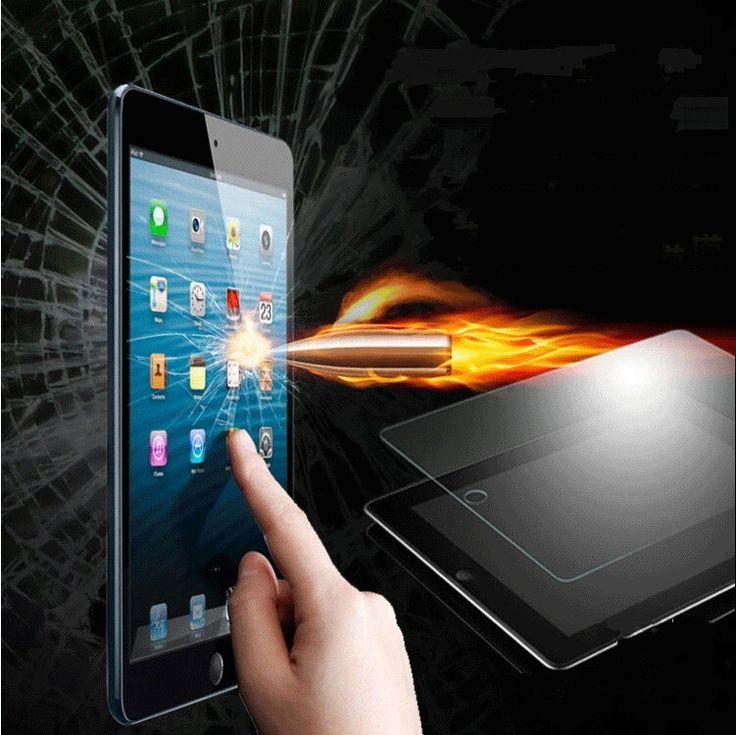 Floveme para ipad air 2 ultra thin hd protector de pantalla de cristal templado para ipad air/2 para ipad 5 6 film protector para ipad air 2