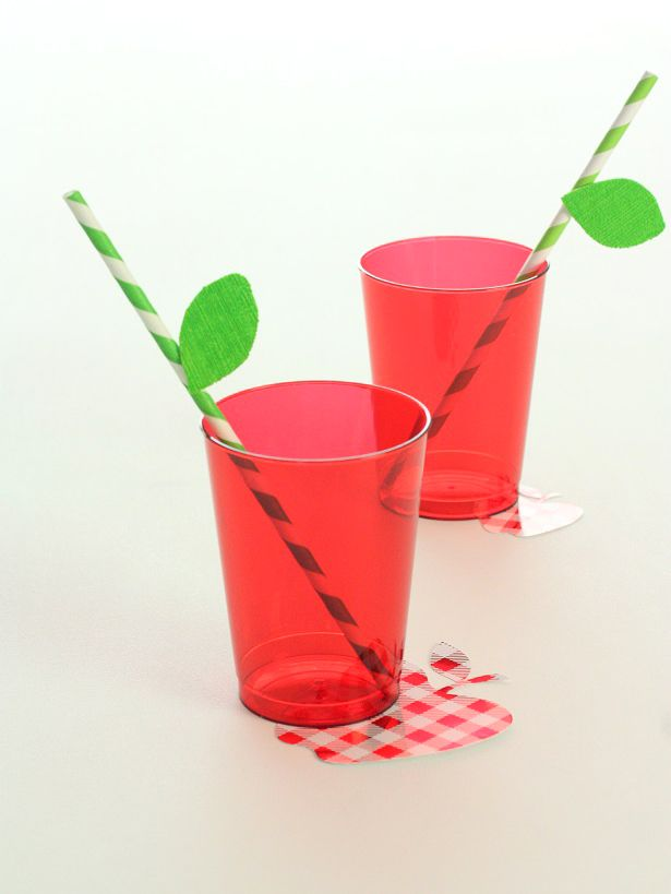 Simple Apple Cups for Back To School | Kim Byers, TheCelebrationShoppe.com
