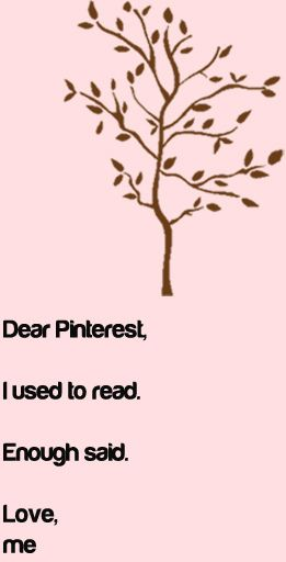 Thanks Pinterest :)