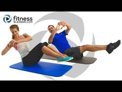 24 Minute Ab Blasting Interval Workout - At Home Abs Workout | Fitness Blender