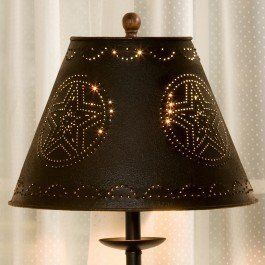 12 best lamp ideas images on pinterest lamp ideas lamp shades and black star punched tin lamp shade check out the image by visiting the link aloadofball Choice Image