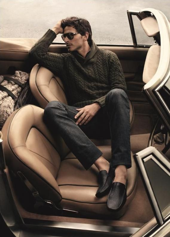 Mikael Jansson Captures a Traveling Andres Velencoso Segura for Carlo Pazolini Fall/Winter 2012 Campaign