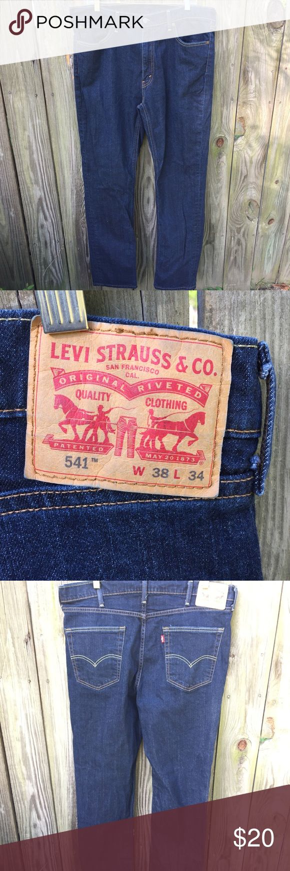 Men's Levi's 541 Athletic Fit Like new Men's Levi Jeans , 541, W 38, L 34, These are timeless and a closet staple, great condition Levi's Jeans