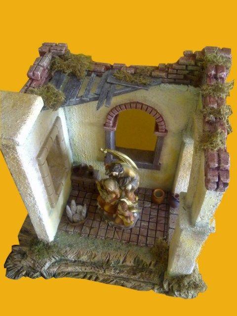 Casa derruida grandes dimensiones desde arriba