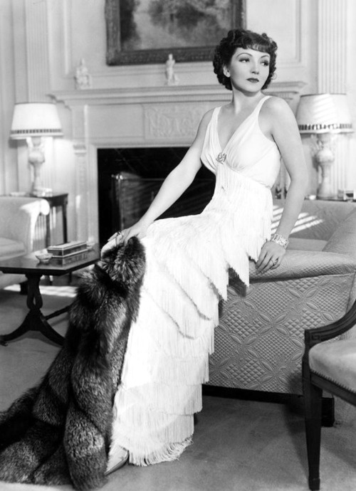 "Claudette Colbert ~ After the completion of For the Love of Mike (1927), Colbert told one and all, ""I shall never make another film"".  jαɢlαdy"