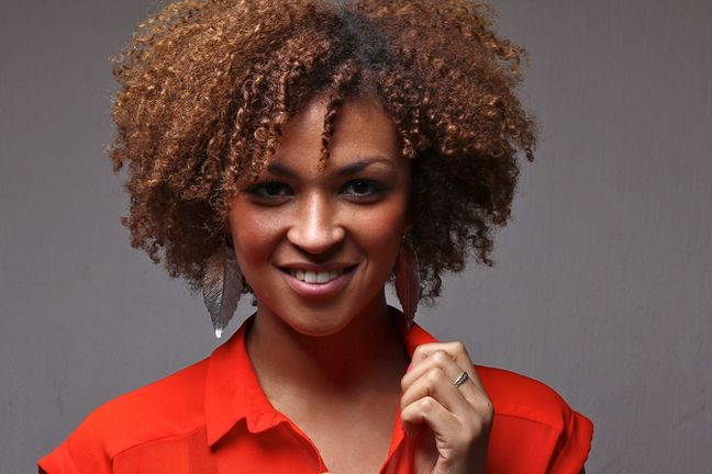 natural sew in hairstyles : ... Professional Natural Hairstyle with Big Chop Natural Hair Hairstyles