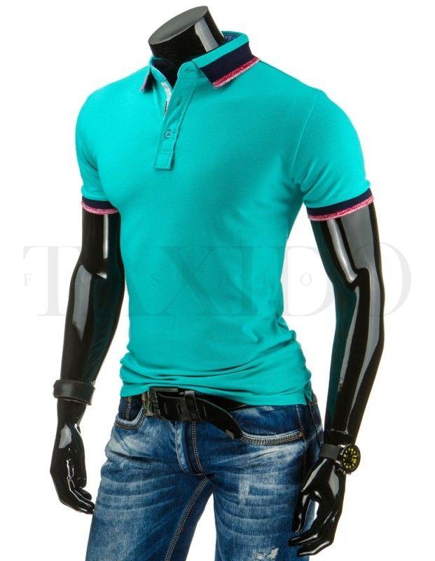 Pánské POLO tričko - Lorenzo, zelené