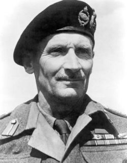 """""""Monty"""" Field Marshal Bernard Law Montgomery, 1st Viscount Montgomery of Alamein, KG, GCB, DSO, PC (1887-1976)"""