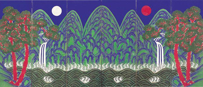 Art of the Joseon Dynasty(Sun, Moon and Five Peaks)