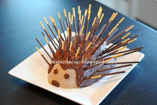 Not a cheese: Porcupine Cake