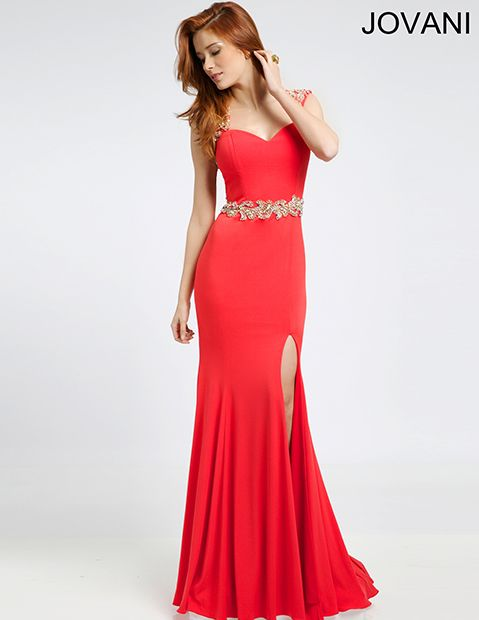 Jersey prom gown 99424