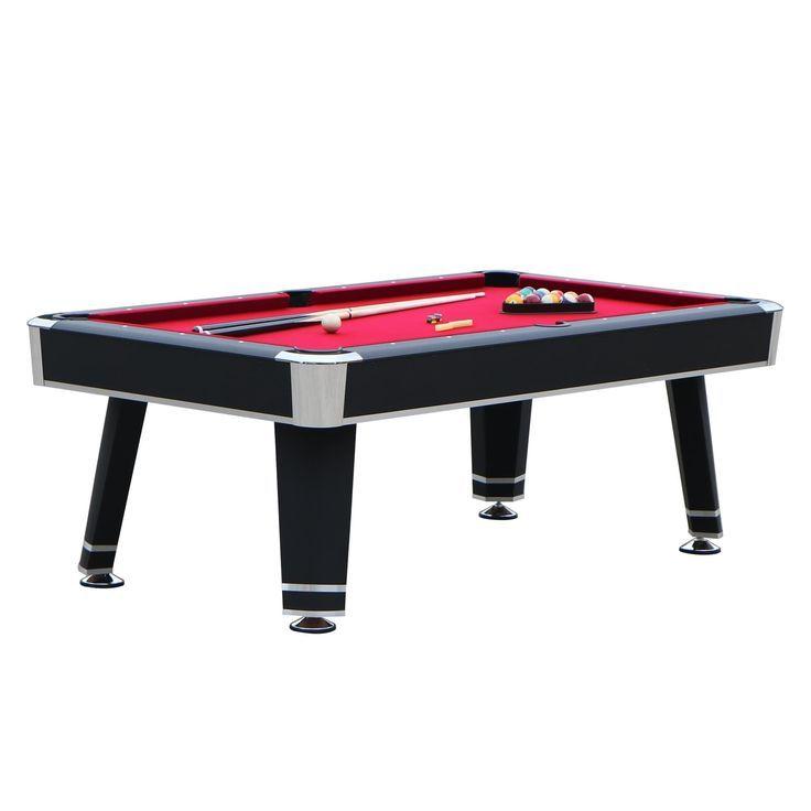Hathaway Jupiter 7 Ft Pool Table Black Finish In 2020 Pool