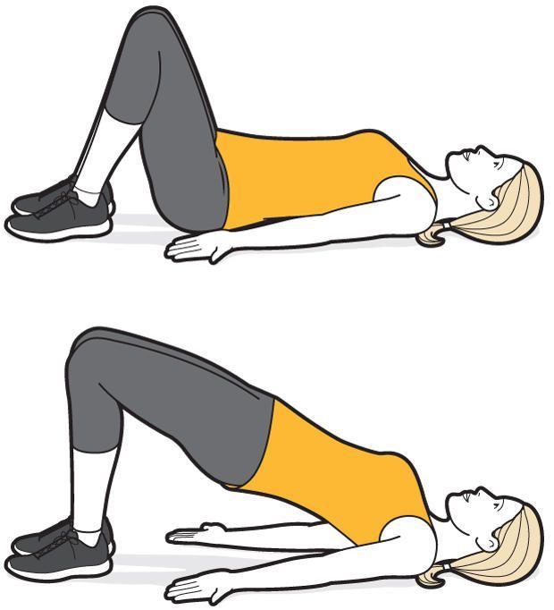 les 25 meilleures id es de la cat gorie exercices de renforcement de la hanche sur pinterest. Black Bedroom Furniture Sets. Home Design Ideas