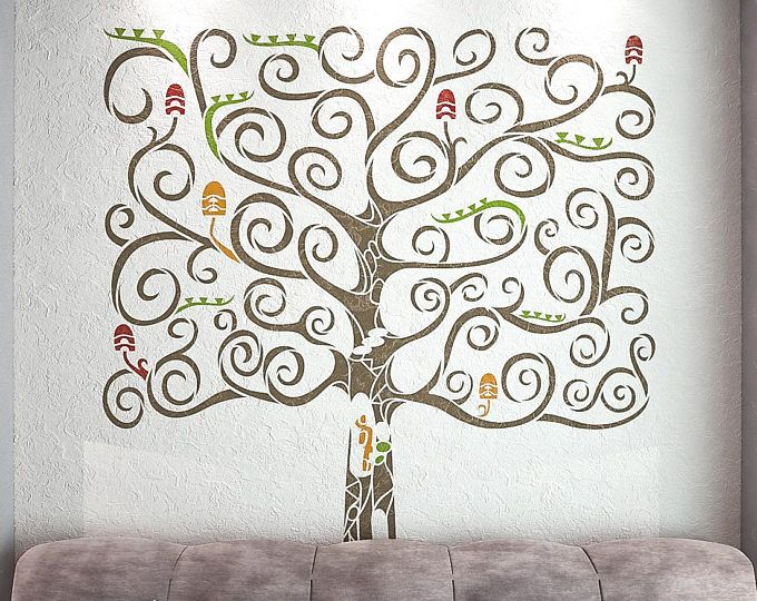 Best 25+ Tree wall stencils ideas on Pinterest | Tree ...