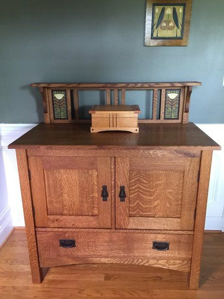Mission Style Sideboard Woodworkingprojects