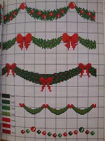 Μερικά ακόμη σχέδια και μπορντούρες για κέντημα Some more cross stitch patterns and borders ...