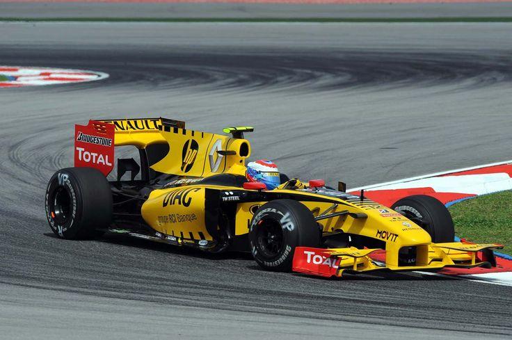 2010 GP Malezji (Sepang)  Renault R30 (Vitaly Petrov)