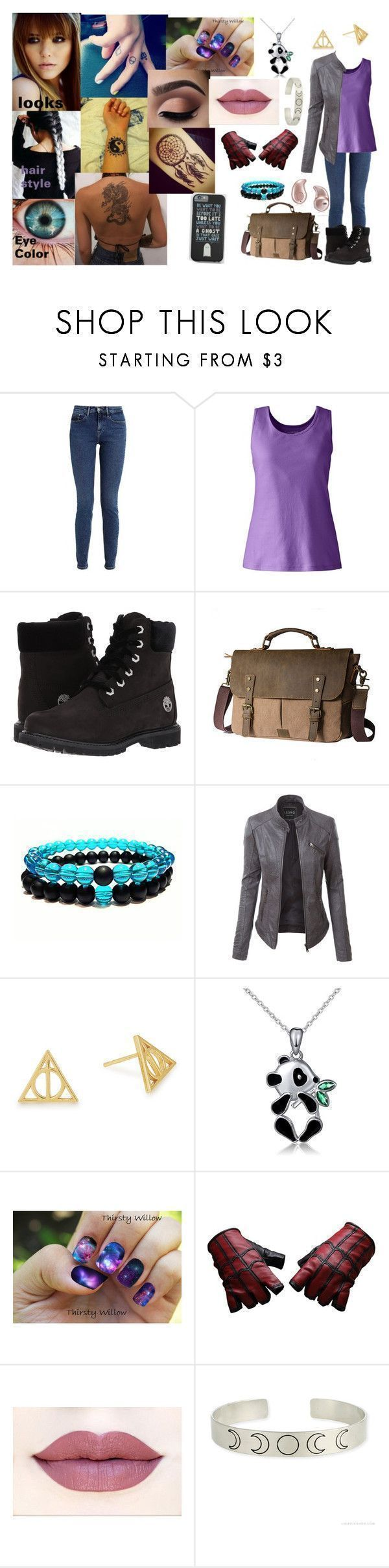 """jaiden robin (outfit 1 part1)"" by adreianna-arroyo on Polyvore featuring Calvin Klein, Lands' End, Timberland, Samsung, LE3NO, Alex and Ani, ASAP and Marvel #timberlandoutfits"