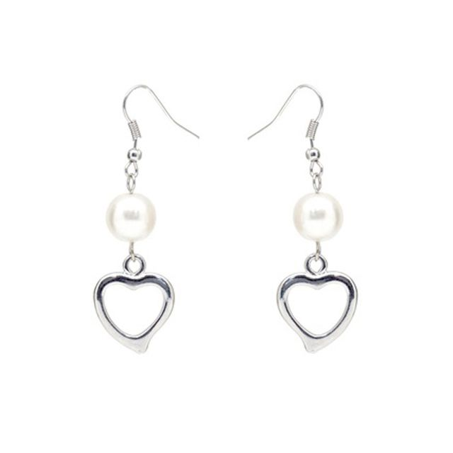 Heart Swarosvki Pearl Hook Earrings - Online shopping for Heart Swarosvki Pearl Hook Earrings. Wholesale welcomed. 28Mall only sells original brands items. Get up to US$28 HongBao shopping credit for new members www.28Mall.com/s/P37