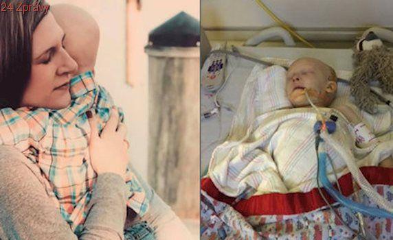 """Chlapeček prohrál boj s rakovinou: """"Mami, mám tě rád,"""" byla jeho poslední slova"""