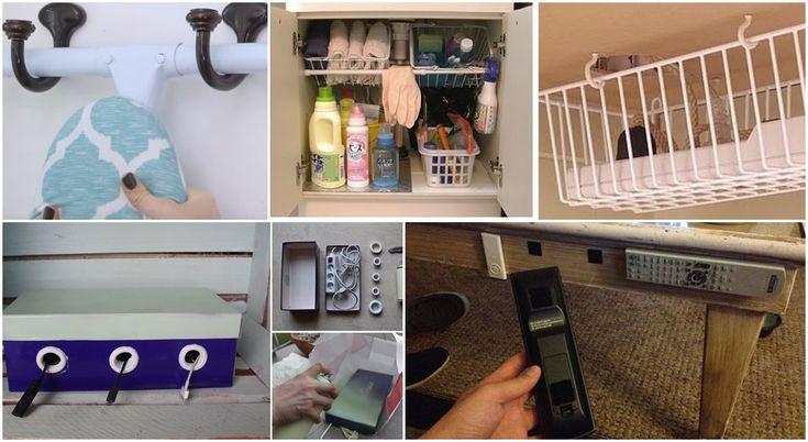 8 sprytnych sztuczek, dzięki którym porządek zawita w Waszym domu
