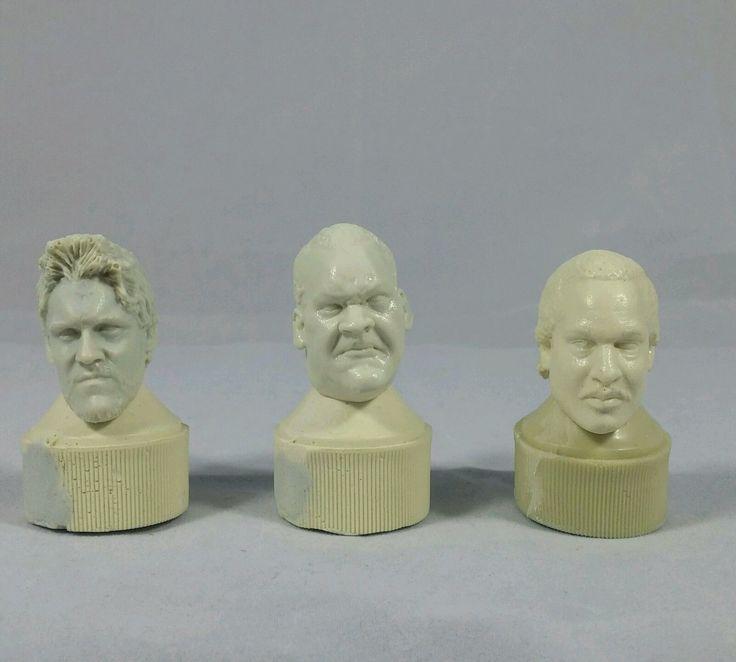 Chris Jericho, Big Daddy V, & Ron Simmons casted figure heads fodder - http://bestsellerlist.co.uk/chris-jericho-big-daddy-v-ron-simmons-casted-figure-heads-fodder/