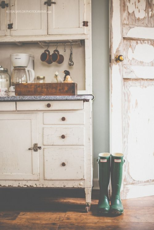 The Kitchen Door. Who needs a boot room.