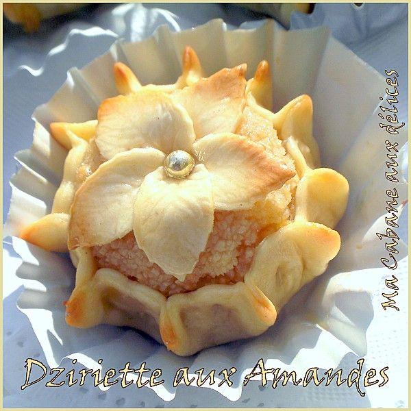 Dziriette aux amandes, gateau algerien | Recettes de Cuisine algérienne, orientale et française