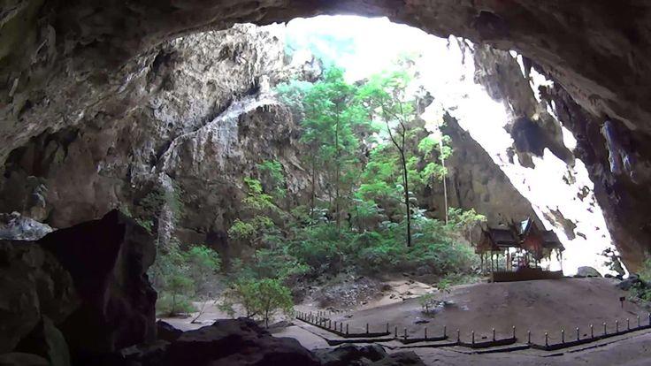 Esta gruta fica situada no Parque Nacional Khao Sam Roi Yot - All rights reserved / Youtube