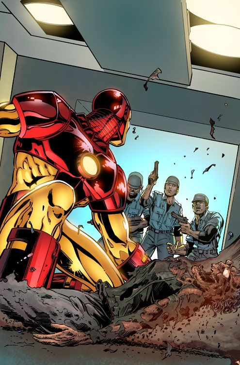 Iron Man Armor Model 9 by Dave Ross