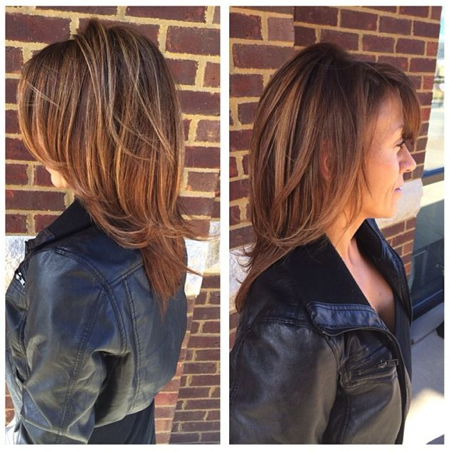 Hair by patience juel salon brunette highlights for 3 brunettes and a blonde salon