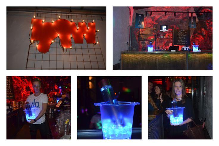 Vi hjälpte till att DQ Vodka blev en del av 100-Wattaren finalens efterfest