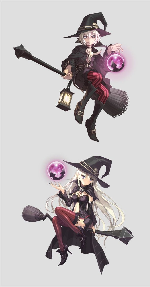 7 Witches Anime Characters : Best images about witch anime on pinterest make new