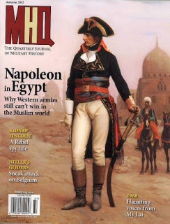 MHQ The Quarterly Journal of Military History is November's Magazine of the Month