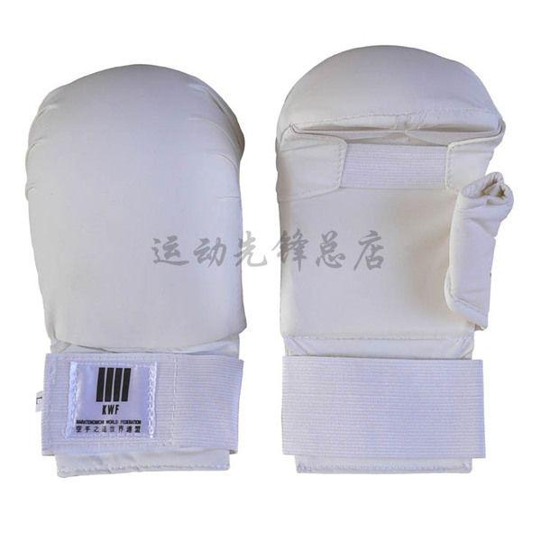 Дешевые каратэ боксерские перчатки для взрослых профессиональных песком подлинный каратэ перчатки перчатки спортивный инвентарь