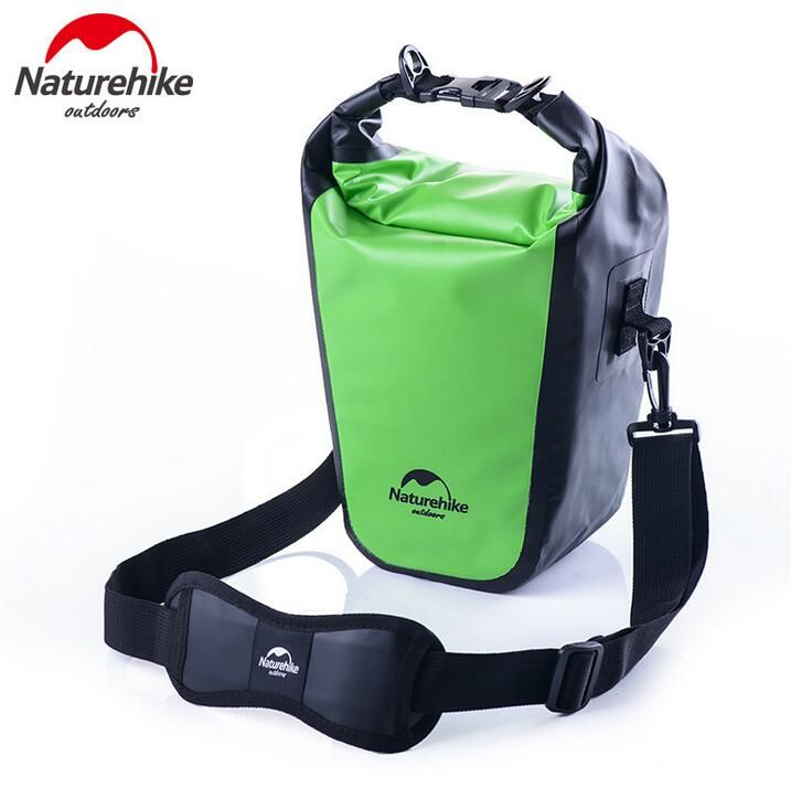 NatureHike Waterproof Camera Bag For SLR Cameras Storage 500D PVC 530g Rain-proof Cover Outdoor Swimming Bags 3 Colors