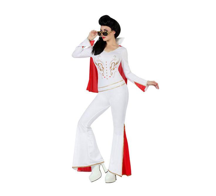 #Disfraz de #Rockera #Elvis #para mujer. #disfrazzes #disfraces