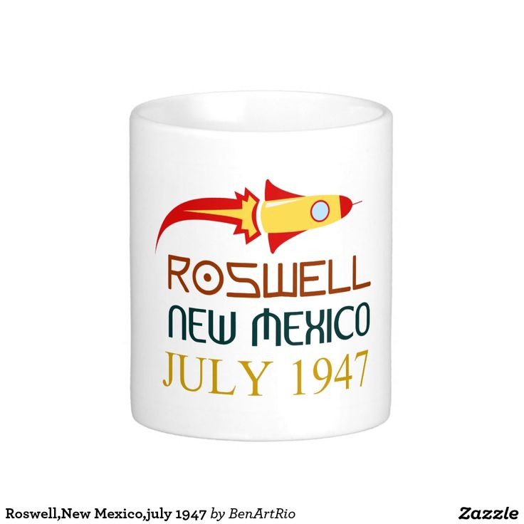 Roswell,New Mexico,july 1947 Caneca