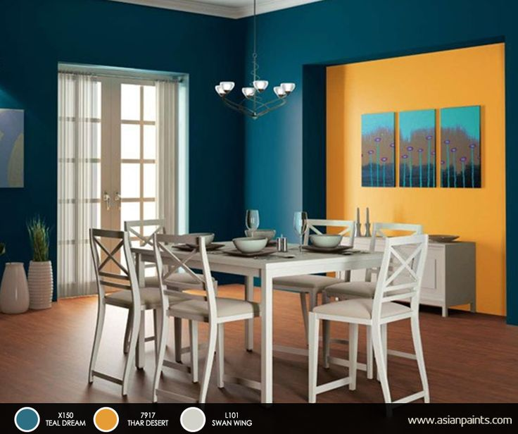 Satin Enamel For Dining Room Interiors Find This Pin And More On Colour Combinations By Asianpaints