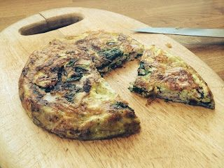 Diary of a Sauce Pot: Ozeri Green Earth Frying Pan Review with Bacon, Spinach & Feta Frittata