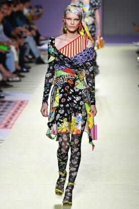 Versace Headscarf Top Global Fashion Week Ss19 Trends 2019 Ss