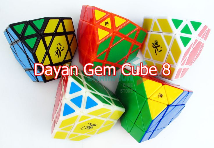 DaYan Gem Cube VIII white [DYG824] - $31.99 : Champion's Cube Store