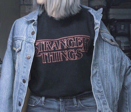 stranger things, grunge, and jacket image