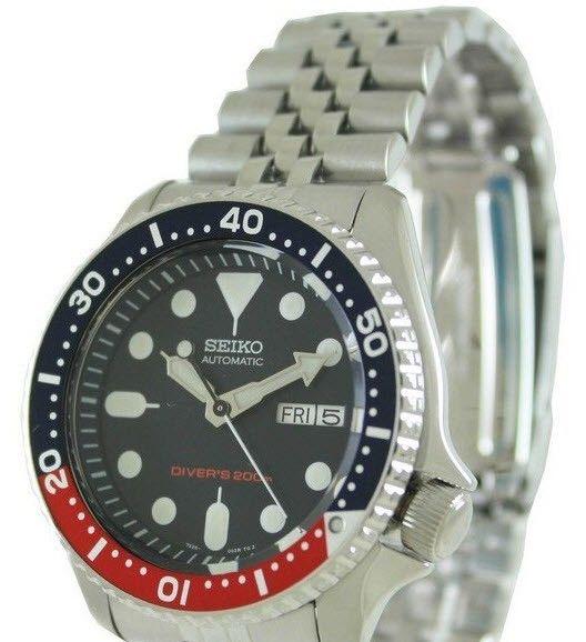 FINN – Seiko Automatic Diver's 200m Jubilee Bracelet - Utrolig Klokke