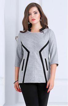 Туники для полных женщин: купить женские туники больших размеров в интернет магазине «L'Marka»