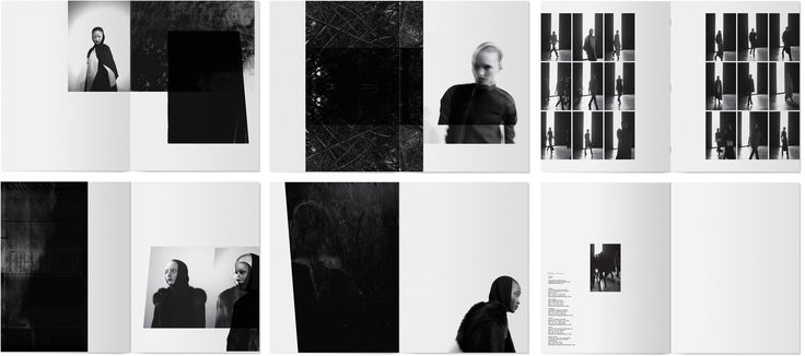 Rick Owens Lookbook // Layout by Non Format